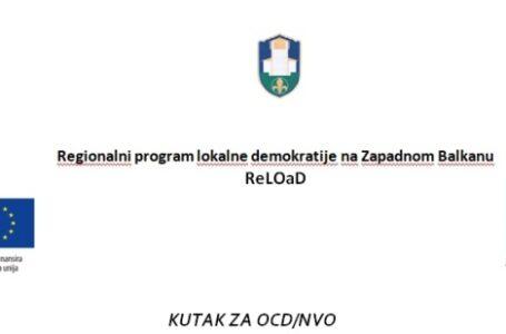 Pokrenut kutak za OCD/NVO u šalter sali gradske uprave
