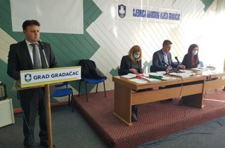 Danas je u Gradačcu održana konstituirajuća sjednica Gradskog vijeća