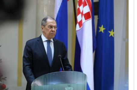 Lavrov u Hrvatskoj govorio i o BiH: Moramo se pridržavati Dejtona