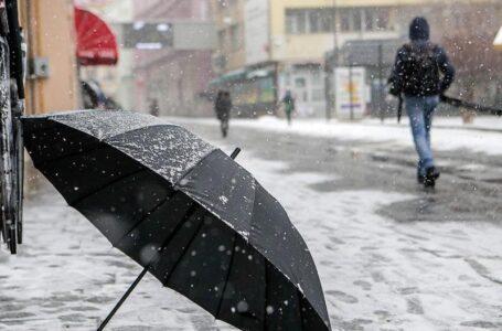 U Hercegovini kiša, a u Bosni snijeg