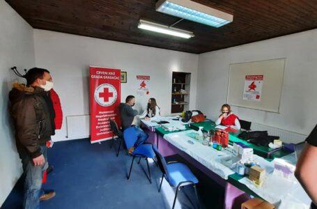 U Gradačcu održana akcija dobrovoljnog darivanja krvi