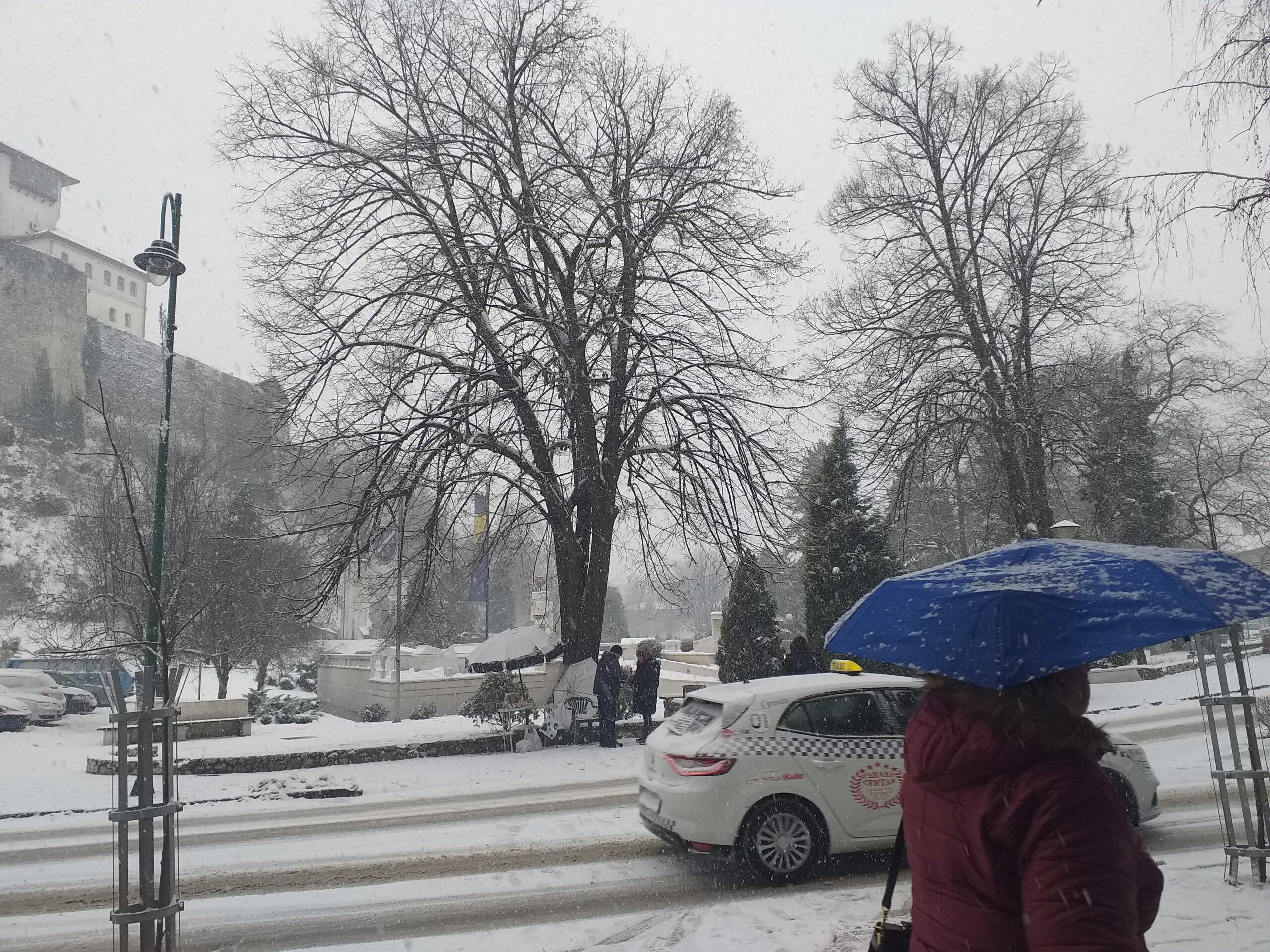 U BiH narednih dana oblačno s kišom, susnježicom i snijegom