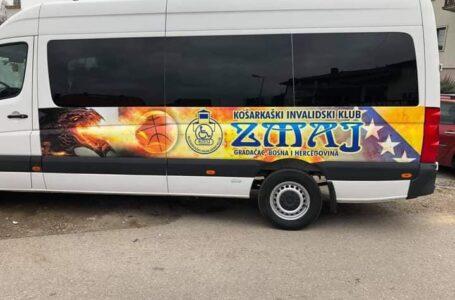 "Uspješno okončana akcija nabavke posebnog kombi vozila za potrebe KIK ""Zmaj"" Gradačac"