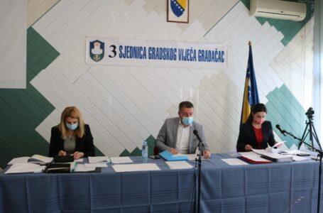 Završena treća sjednica Gradskog vijeća Grada Gradačac