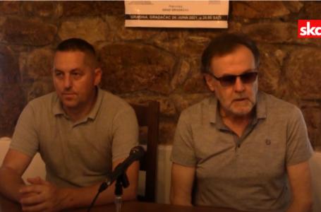 """Press konferencija povodom promocije knjige """"Dnevnik seobenog lica"""""""